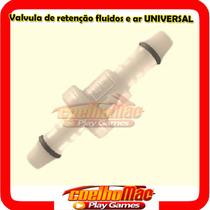 Valvula Retencao Combustivel/ar Universal
