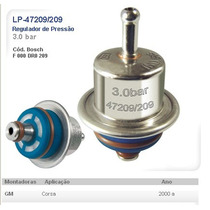 Regulador De Pressão Corsa Lp47209/209