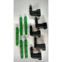 Kit Conector Quick Para Filtro De Combustível 90°