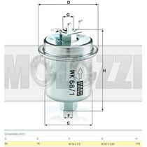 Filtro Combustivel Honda Civic 97/00 - Crv 00/01 - Accord 91