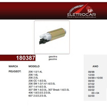 Bomba De Combustivel Peugeot 206, 307 Cc, Sw 1.0, 1.4, 2.0 A
