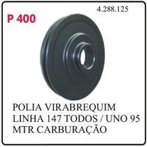 P400-polia Do Virabrequim Fiat 147 Zpazio Oggi Uno Ate 85