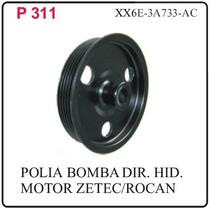 P-311 Polia Da Bomba Direcao Hidr.ka Fiesta Motor Zetec Roca