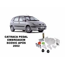 Kit Catraca Pedal Embreagen Scenic Apos 2002