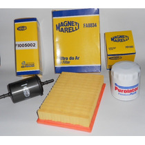 Kit Filtros Ar, Combustivel E Oleo Celta/prisma E Flex