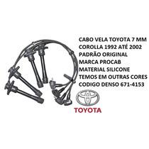 Cabo Vela Toyota Corolla 1992 93 94 95 96 97 98 99 00 01 02