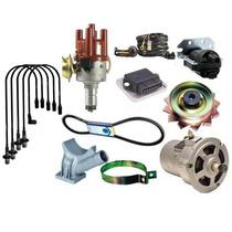 Kit Alternador 55ah+ignição Eletr+cabo Vela Fusca Bras Kombi