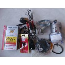 Alternador 75a+ignição Eletrônica+cabo Velas Ngk Fusca Kombi