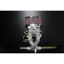 Fusca 1200 A 1500 Carburador Speed 40 C/ Coletor Central