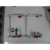 Linha De Combustivel Para Blower Com 02 Quadrijets