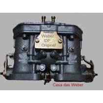 Opala 4cc Weber 40 Idf + Coletor De Admissão Álcool