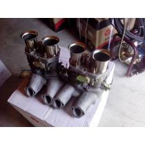Kit Dupla Weber Ap - 02 - 40 / Ou 44 E Coletor Em Alumínio