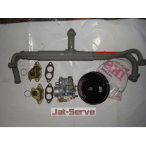 Kit Carburação Simples Kombi (carbur/filtro/coletor/pesinho)