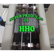 Kit Hidrogênio 25 Placas Inox 316l