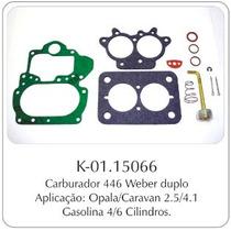 Kit Carburador Gm Opala/caravan Weber Duplo