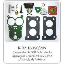 Kit Carburador Ford Corcel 78/82 - Gm Chevette/opala - Broso