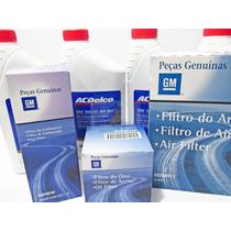 Kit Troca Oleo + Filtros Original Gm Onix Novo Prisma