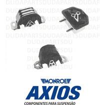 Kit Completo Calço Coxim Câmbio Motor Kadett Ipanema - Axios