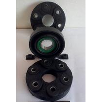 Kit Completo Do Cardan Omega 6cc Coxins E Mancal C/rolamento