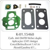 Kit Carburador Fiat Uno/premio/elba Weber 460