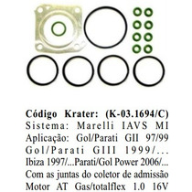 Kit Injecao Vw Gol/parati 1.0 16v - Mi Magneti Marelli