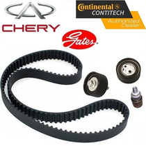 Kit Correia Dentada Alternador Acess. Chery Cielo 1.6 16v