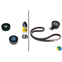 Kit Correia Dentada + Poly V Alternador 206 207 C3 1.4 8v