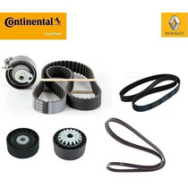 Kit Correia Dentada Altern./tensor Renault Clio 1.0 16v