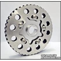 Polia Regulavel Vw Ap Aluminio Billet Prata