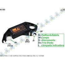 Regulador De Voltagem 14,8v Vectra Gl Gls Cd - Ikro