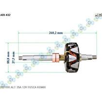 Rotor Para Alternador Brasilia 1300 1600 Fusca 1.6 - Arielo