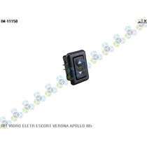 Interruptor Vidro Eletrico Escort Verona Apollo 88/...