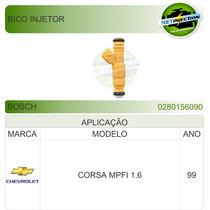 Bico Injetor Bosch Corsa Mpfi 1.6 99 0280156090