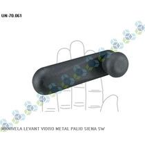 Manivela Levantador Vidro Metal Siena Sw - Universal