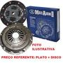 Kit Embreagem Sem Atuador Ford Fiesta 1.0 8v Endura 96 Ate98