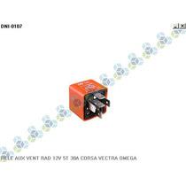 Rele Auxiliar Ventuinha Radiador 12v 5t 30a Corsa Vectra
