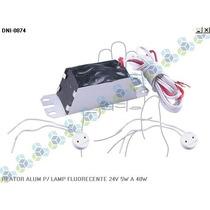 Reator Aluminio P/ Lampada Fluorencente 24v 5w A 40w