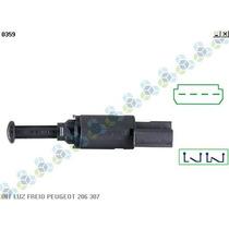 Interruptor De Luz De Freio Peugeot 307 Todos - 3rho