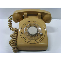 Aparelho Telefone Antigo - Cor Bege