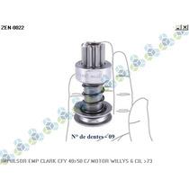 Impulsor Bendix Motor Empilhadeira Cfy40 Cfy50 C/ Mo - Zen