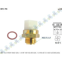 Termo Interruptor Radiador Gol 1.6 1.8 2.0 Ap 02/05 - Mte