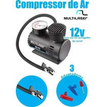 Mini Compressor De Ar Enche Pneus De Carros,moto,bike -12vts