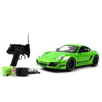 Automodelismo Porsche Cayman Controle Remoto 1/16 Com Luz