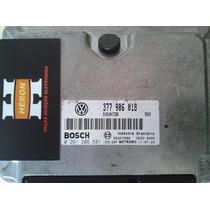 Módulo Injeção Volks Gol Turbo 0261206581 377906018 Bosch