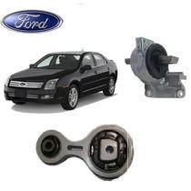 Coxim Motor + Calço Cambio Ford Fusion 2.3 16v 2006 A 2010
