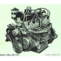 Peças Pistão,aneis,bronzinas Motor Jeep Willys 6cc Bf161 4x4