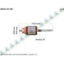 Induzido Motor De Partida Fusca Kombi Gol Variant I - Arielo