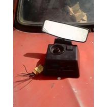 Retrovisor Int Premi,uno,elba,85 A 91 Luz,relógi,espelh,ótim