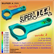 Biela Forjada Vw Ap 144mm Supera Spa Turbo 800cv Até 1000cv