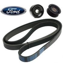 Kit Correia Alternador Ford Fusion 2.3 16v Duratec